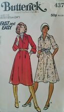 **Vintage Sewing Pattern**Ladies Loose-fitting A-line Dress**Size 12**