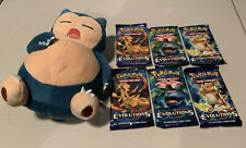 POKEMON XY EVOLUTIONS SIX (6) BOOSTER PACKS!! VERY RARE!! (Factory sealed)