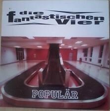 """Die Fantastischen Vier Popular Doppel 12"""" Vinyl wie NEU gecuttet ACHTUNG Cut Out"""