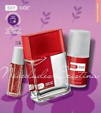 3 Pc Set Avon Sxy Side for Her Eau de Toilette Spray, Deodorant & Rollette