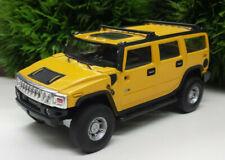 Hummer H2 Hongwell 1:43 Modellauto Cararama gelb yellow