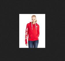 New Womens Ladies USPA US Polo Assn Sherpa Fur Fleece Hoody Hoodie Jacket