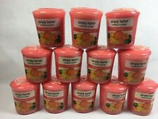 FRUIT PUNCH  Yankee Candle SIMPLE HOME VOTIVE candles lot of 12 votives new