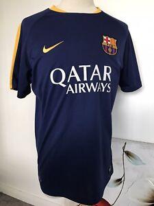Barcelona Nike Training Shirt. Adults Large. Neymar Junior. Must See