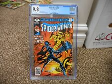 Spiderwoman 16 cgc 9.8 Marvel 1979 MINT WHITE pgs COOL Bill Sienklewicz cover