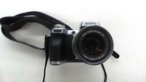 Sony Cyber-shot DSC-H1 5.1 MP Digital Camera W/Cords Silver