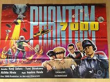 Phantom 7000 Kinoplakat Poster A0 Inoshiro Honda 84x119cm 1960 Weltraum Bestien