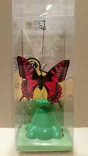 ( New in box )Cat Toy Pet Zone Butterfly Flying By Spinner Interactive Pet Game