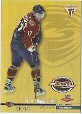 Ilya Kovalchuk 2001-02 Pacific Private Stock Titanium Draft Day Edition RC /780