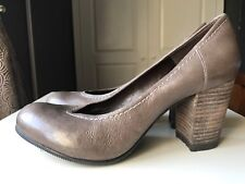 Carvela Ladies Women High Heel Shoe Tan Court Leather Sandal Shoe Size 5 38