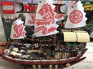 LEGO NINJAGO Ninja-Flugsegler (70618) in sehr gutem Zustand