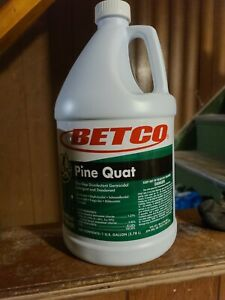 BETCO Disinfectant Deodorant Pine Quat Cleaner Concentrate 1 gallon