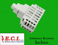 Tecnel TE4595 Dimmer rotativo x Ventilatori 40-350W + Dev Bticino MAgic TT