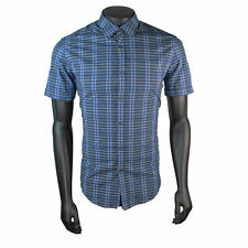 HUGO BOSS Short Sleeve Stretch Casual Shirts & Tops for Men