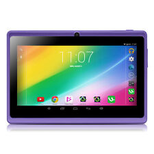 "iRULU 7""inch 16GB Tablet PC Quad Core Android 4.4 Kitkat Dual Camera Purple New"