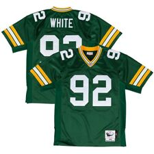 1996 Reggie White NFL Green Bay Packers Mitchell   Ness Authentic Home  Jersey 9d043a98f