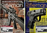 NRA AMERICAN RIFLEMAN 2 Magazines-March & April 2019 Issues-PhotographsFreeShip