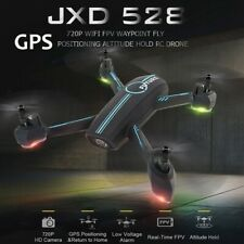 JXD 528 720P Dual Camera Wifi FPV GPS Positioning Follow Me RC Quadcopter Drone
