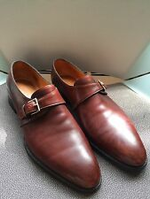 JOHN LOBB Matta II 7000 Monk Strap Men's Shoes Size:10E /US: 11D Made in England