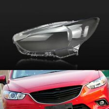 For Mazda 6 Atenza 2014~2017 Car Headlight Headlamp Clear Lens Auto Shell Cover