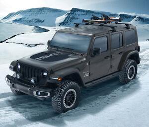 2018-2021 Jeep Wrangler JL & Gladiator  Mopar Removable Roof Rack Kit 82215387AB