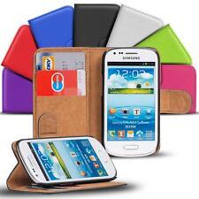 Samsung Galaxy S3 Mini Handy Klapp Tasche Schutz Hülle Book Flip Cover Case Slim