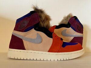Nike Women's Air Jordan 1 Retro High Court Lux x Aleali May Size 8 BV2613-600