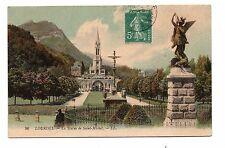 LOURDES - La statue de Saint Michel  (C3350)