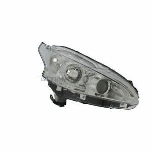 Peugeot 208 2012-2015 Chrome Front Headlight Headlamp O/S Drivers Right