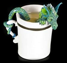 Drachen Figur in Tasse - Good Morning Dragon by Amy Brown - Fantasy Dekotasse