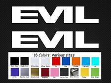 Evil Bike Decals Set 2 Stickers DH MTB Downhill Revolt  Dirt