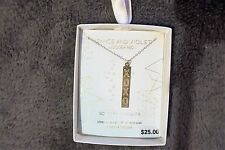 Venice and Violet by Dogeared Sterling Silver XOXO Pendant~18""