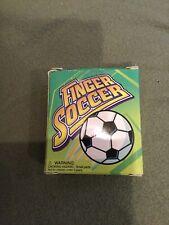 Running Press Finger Soccer Travel Game /Shoes/Ball/Goalpost New