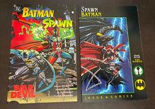 SPAWN / BATMAN GN (Image 1994) -- Frank Miller / McFarlane -- FULL Series of 2