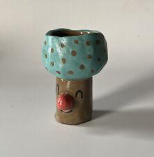 New ListingHandmade Ceramic Mushroom Jar 3.5� Tall