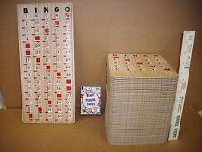 New Complete BINGO Game Set w/ 50 Improved Slide Shutter Cards & 100 Paper Cards