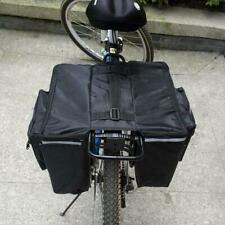 Bicycle Rear Rack Seat Trunk Double Side Bag Bike Pannier Tail Pack Pouch Bag