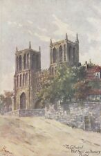BRISTOL : The Cathedral,West Front and Deanery,Bristol- BARNESS-RUDDOCK