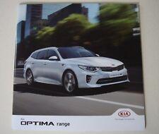Kia . Optima . Kia Optima . August 2017 Sales Brochure