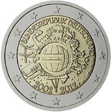 2 euros ALLEMAGNE ATELIER G  2012 10 ans de i' euro PROMOTION NOEL!!!!!!!!!!!!