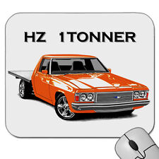 HOLDEN  HZ  1TONNER FLAT BED UTE      MOUSE PAD   ( 7 CAR COLOURS)
