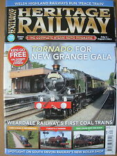 HERITAGE RAILWAY THE COMPLETE STEAM NEWS MAGAZINE ISSUE 152 JULY 6 2011