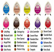 MEMENTO DEW DROP INK PADS by TSUKINEKO. CHOICE of INK PAD COLOURS. FREE DELIVERY