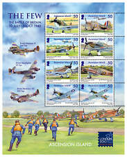 Ascension Is 2010 Battle of Britain sheet SG 1074a MNH