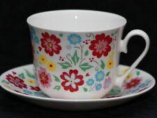 ROY KIRKHAM ENGLISH BOUQUET Fine Bone China Breakfast Cup & Saucer Set