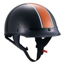 L ~ Motorcycle Cruiser Biker Moped Half Helmet Shadow Softail Touring Harley