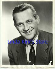 "Allyn Edwards Photograph Head Shot ""Mr. Citizen"" Host ABC-TV 1950s"