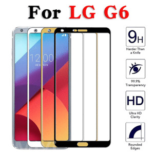 Tempered Glass Screen Protector 9H For LG G6 Full Cover 3D NEW