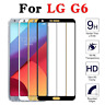 For LG G6 Screen Full Cover 3D Edge Tempered Glass Film Protector 9H