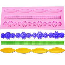 Silicone Lace Mold Mould Fondant Sugar Craft Cake Decorating Tools Decoupage M3
